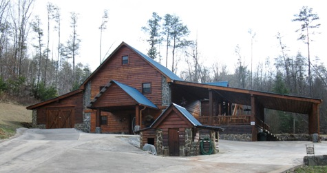 ocoee river rental cabin